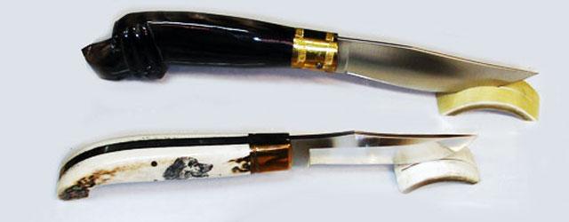 Coltelli e spade da collezione, coltelli in ceramica, oggetti unici…