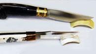 Spade e coltelli da collezione, spade shogun, coltelli damasco giapponesi, coltelli in ceramica, coltellini svizzeri e ricambi originale, spade templari e del Signore degli Anelli.
