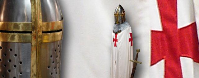 Tutto sui Templari: abbigliamento, oggetti, armi…